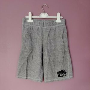 Roots salt and pepper shorts